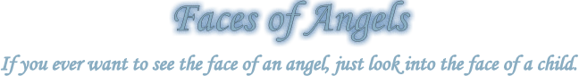 Faces of Angels logo.